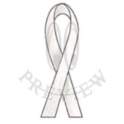 Flat Bottom Awareness Ribbon