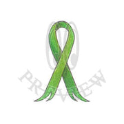 Out Split Awareness Ribbon