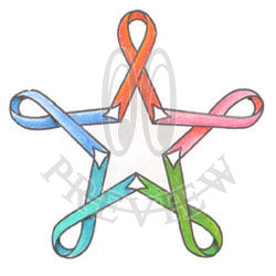 Star Awareness Ribbon