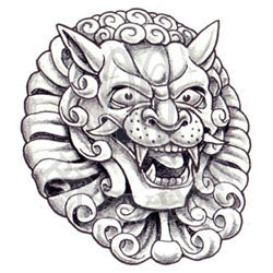Imperial Lion Head