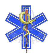 Rod of Asclepius Star of Life
