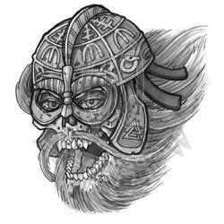 Screaming Aegishjalmur Draugr BG