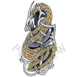Knotted Viking Dragon