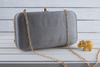 Online Grey golden purse