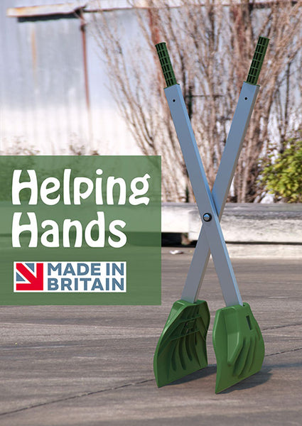 Helping Hands - leaf grabber