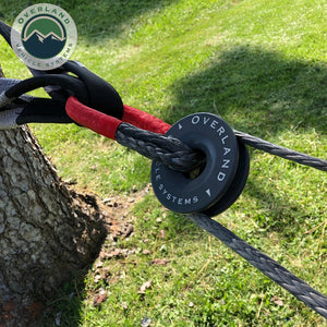 "Overland Vehicle Systems 5/8"" Soft Shackle 44,000 lbs. Recovery Ring, and Tree Strap"