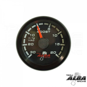 Alba Racing Weatherproof Boost Gauge