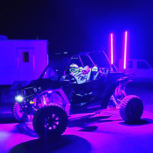 XK Glow 4' LED Whip Kit