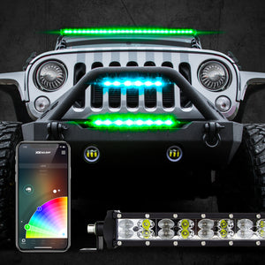 XK Glow Multi-Color RGB / White LED Light Bar