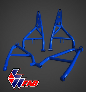 L&W FAB High Clearance A Arms for Polaris RZR Turbo S