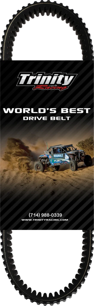 Trinity Racing Worlds Best Belt - Polaris RZR XP 1000 / XP 900 / 900 S