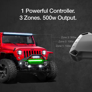 XK Glow High Power LED Light Bar Controller