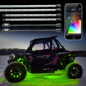 XK Glow UTV, RZR, X3 LED Accent Underglow Light Kit, XKChrome App Controlled