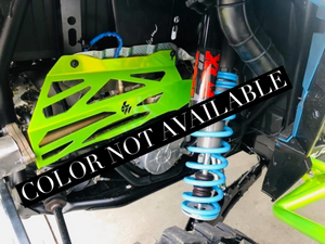 L&W Fab Exhaust Cover Polaris RZR (Turbo / Turbo S)