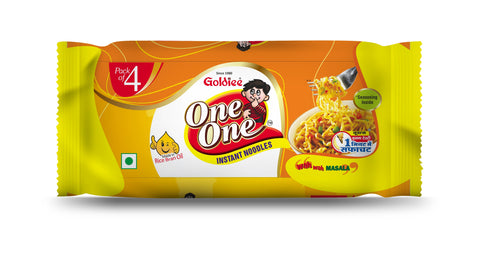 ONE ONE NOODLES MASALA - Pack Of 4