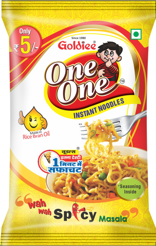 NOODLES ONE ONE SPICY Rs.5/-
