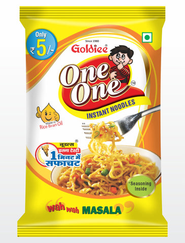 ONE ONE NOODLES MASALA Rs 5/-