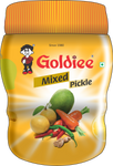 Goldiee Pickle Mix HD Jar 300g