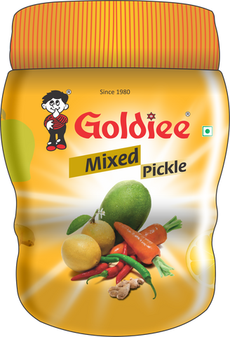 Goldiee Pickle Mix HD Jar 500g