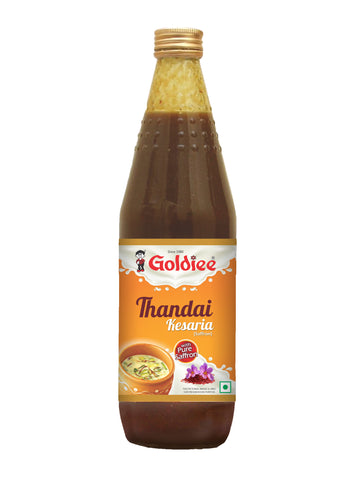 Goldiee Sharbat Thandai Kesaria 700 ml