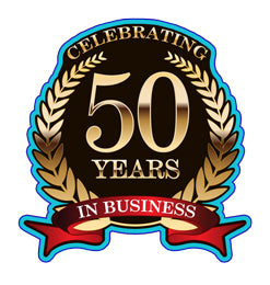 Proudly celebrating 50 years