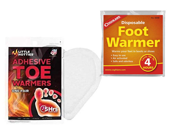 Toe Warmers (pair)