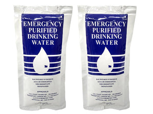 S.O.S® Food Lab - Emergency Purified Drinking Water (125 ml)