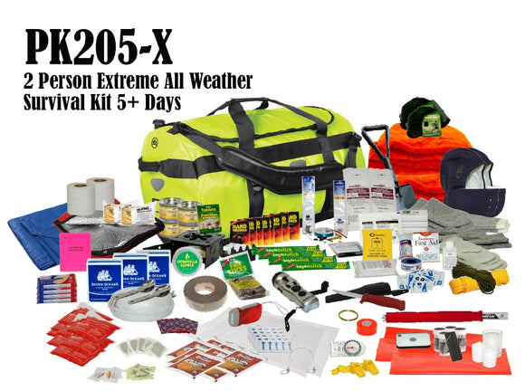 2 Person Extreme Survival Kit