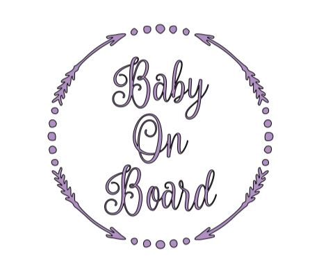 Baby On Board Arrows Decal