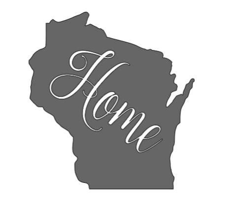 Home WI Decal