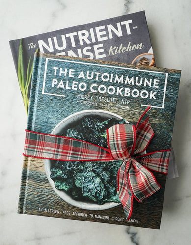The Autoimmune Paleo Cookbook & Nutrient-Dense Kitchen 2-Book Bundle (Signed & Personalized)