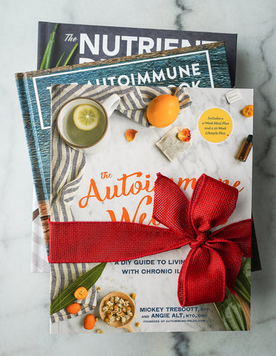 The Autoimmune Paleo Cookbook, The Nutrient-Dense Kitchen, and The Autoimmune Wellness Handbook 3-Book Bundle (Signed & Personalized)