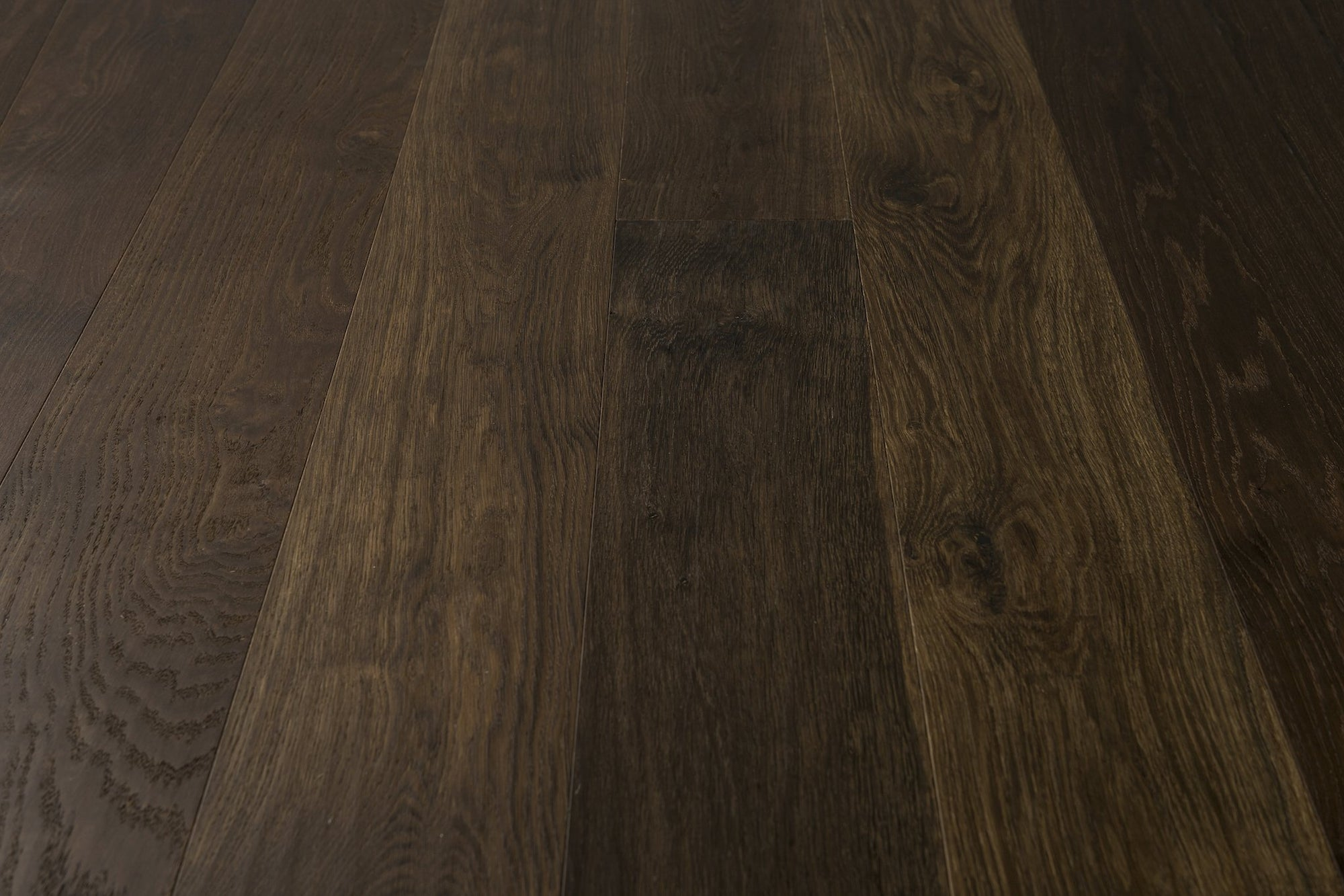 Smoked Oak Handscraped