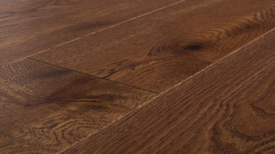 European Plank - Brushed Oak Cobble Hill