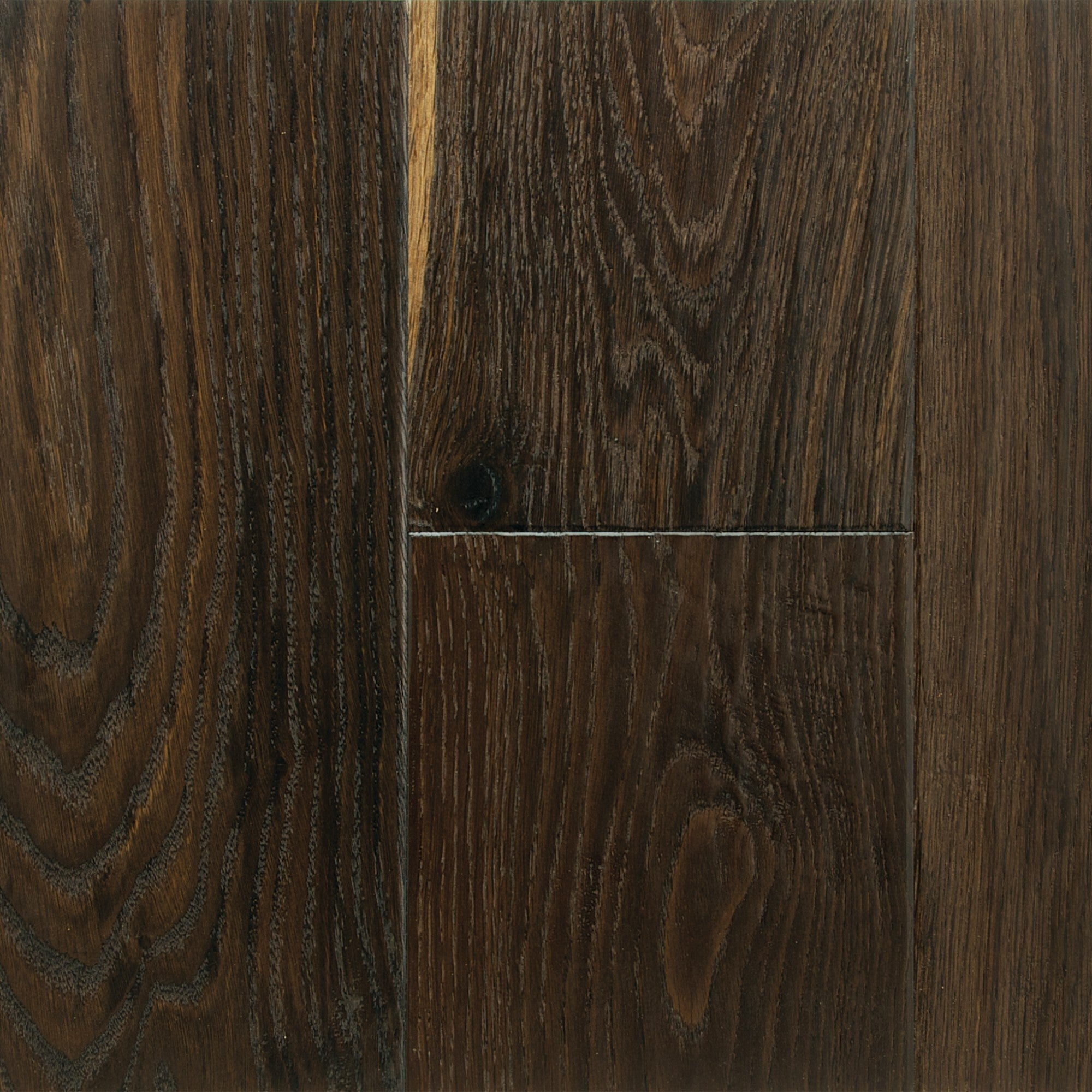 Fumed - White Oak Old Oak Hand Scraped