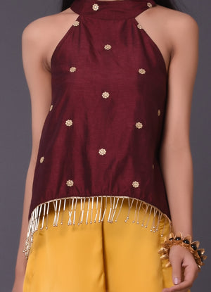 Wine Halter Top