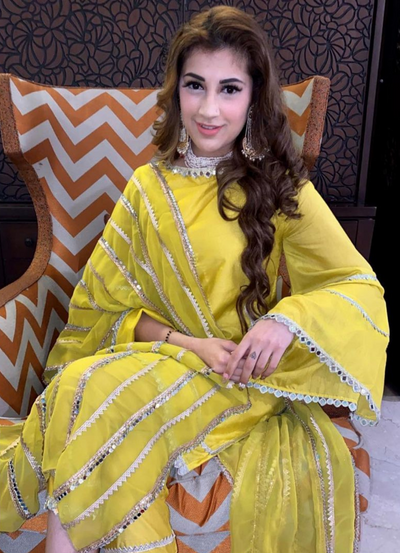 Bahaar Limelight Bell Sleeves Kurta