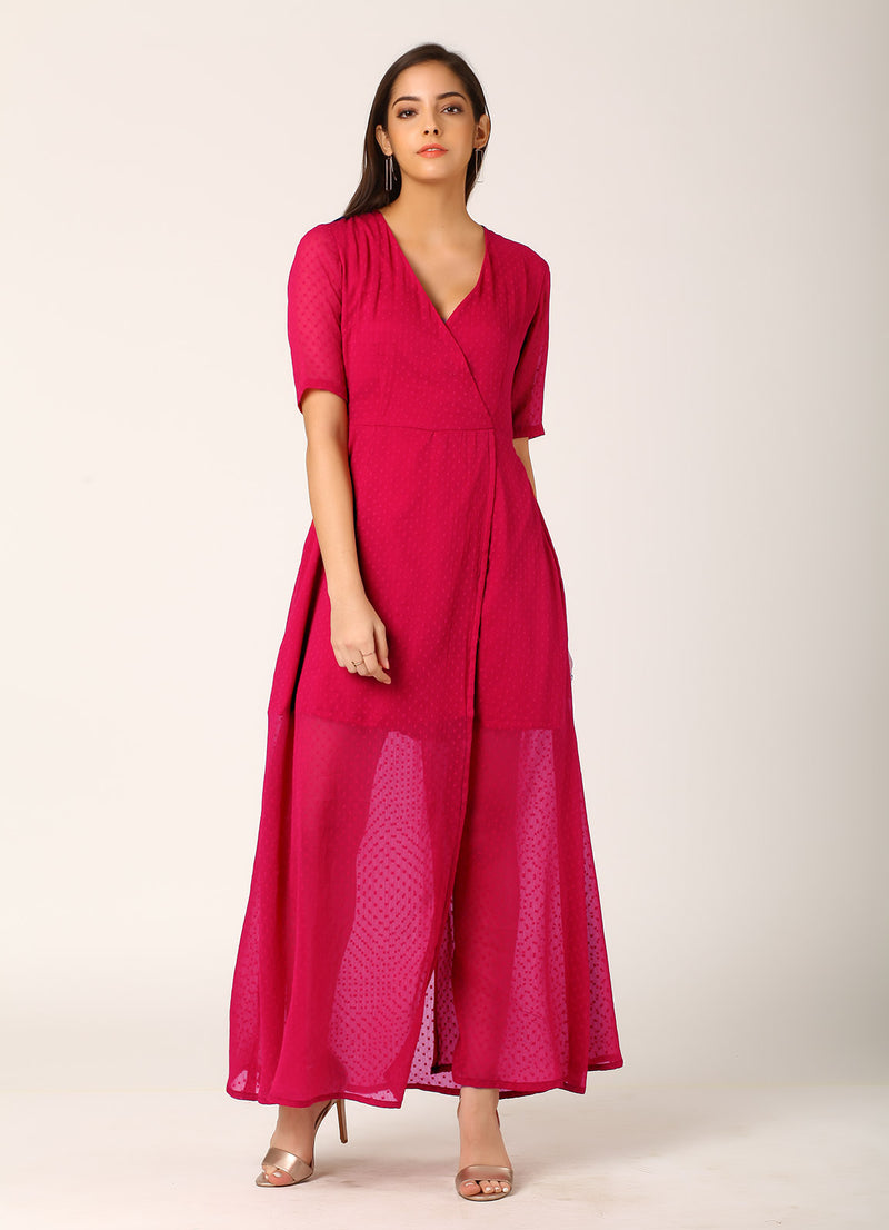 Swiss Dot Maxi Dress