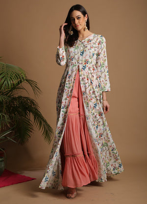 Wildflower Print Anarkali