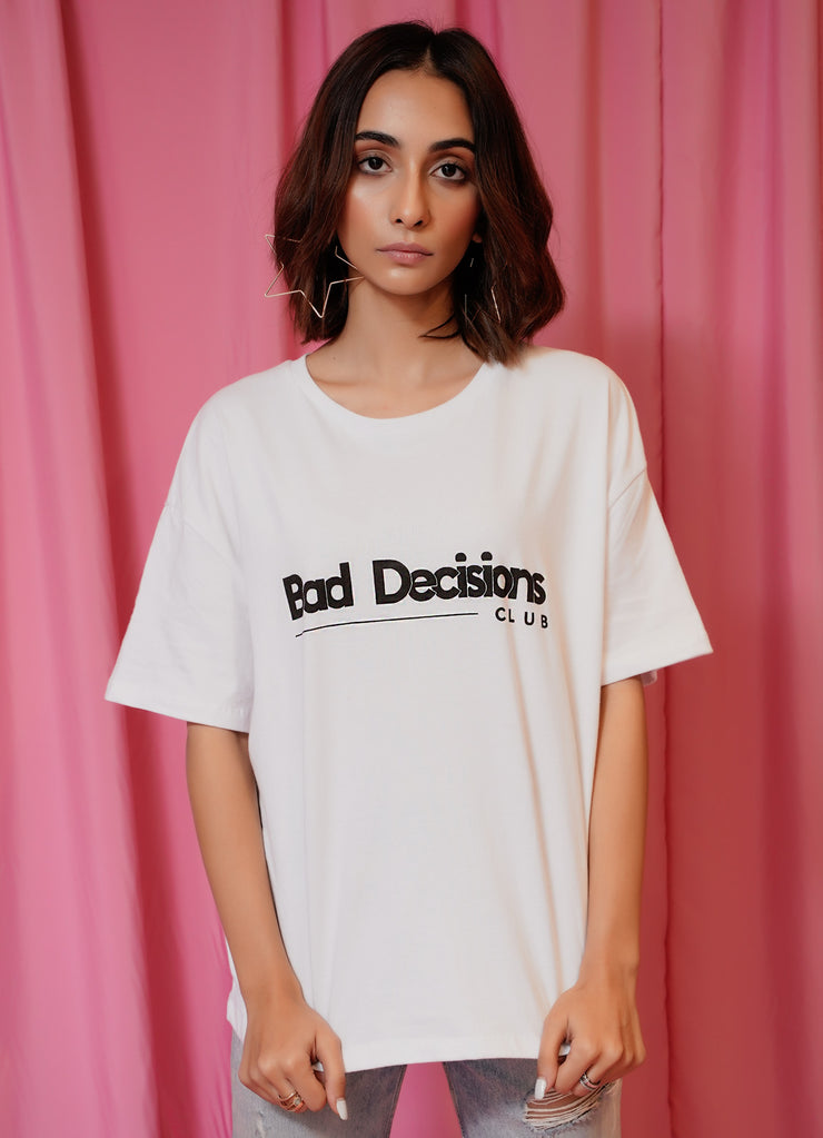 """Bad Decisions Club"" Tee"