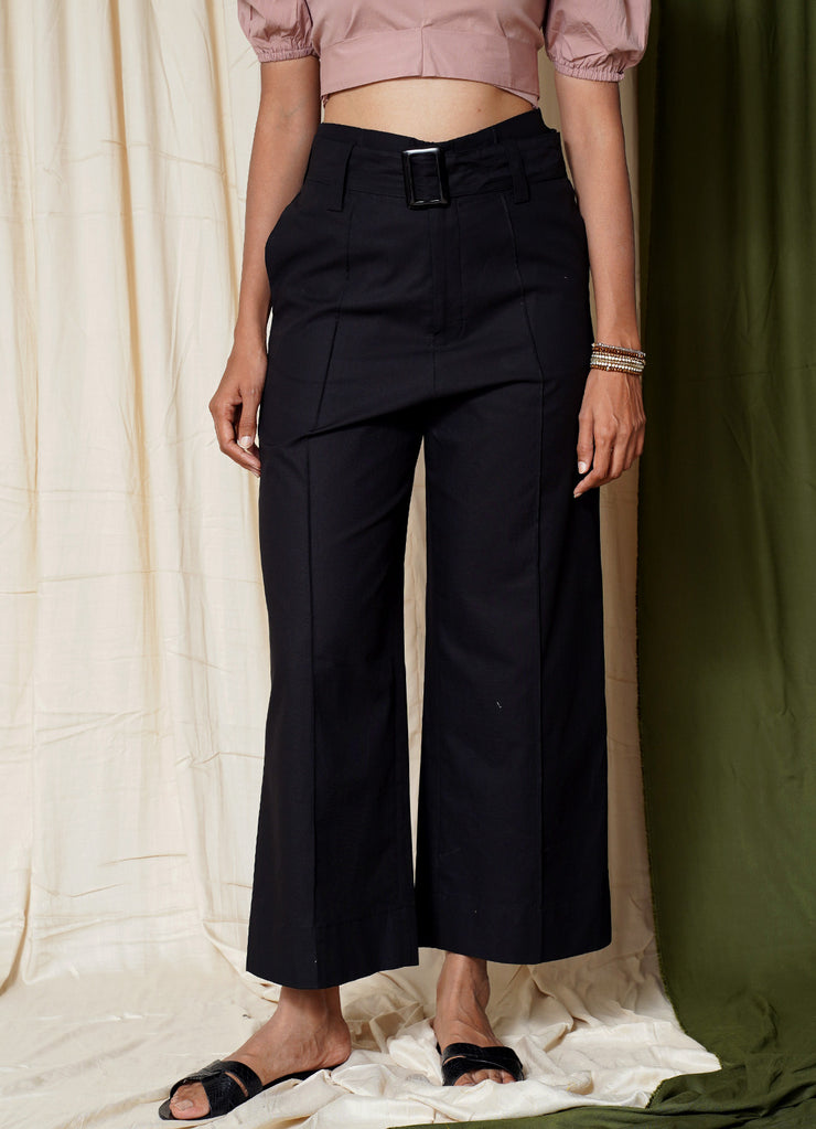 Most Wanted Wide Leg Belted Pants
