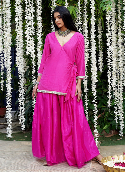 Bold & Beautiful Angrakha Kurta