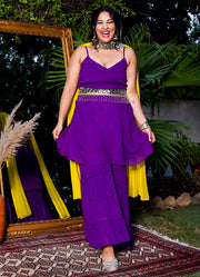 Stand Out Tiered Gharara
