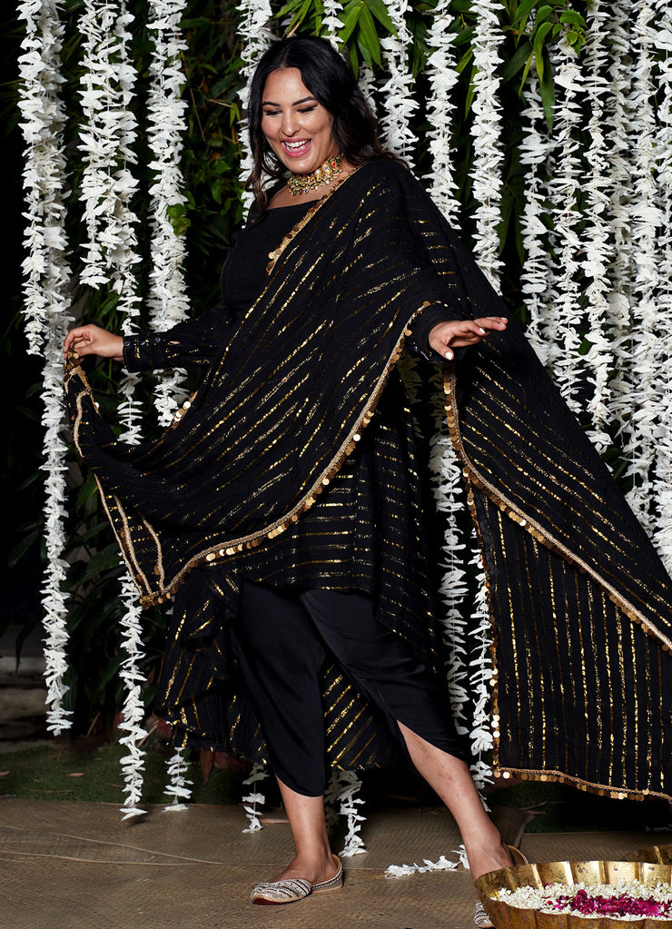 Shine On Lurex Dupatta