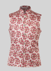 Cherry Blossom Nehru Jacket