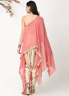 Rose Gold Scallop Cape
