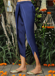 Navy Tulip Pants