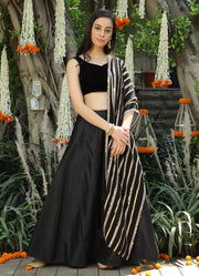 Black Mirror Work Dupatta