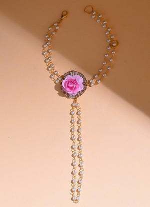 Baby Blush Pearl & Gota Haath Phool By Prune