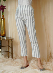 Summer Cotton Straight Pants